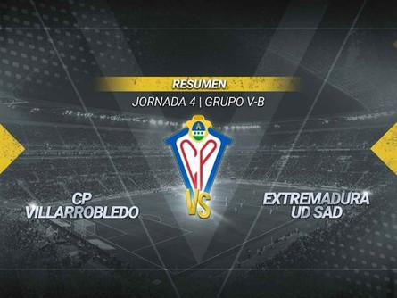 CMM Play nos deja este resumen del CP Villarrobledo 0 Extremadura 1