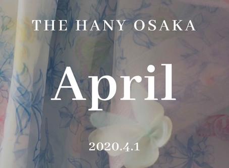 3month fair(THE HANY OSAKA 5th Anniversary)