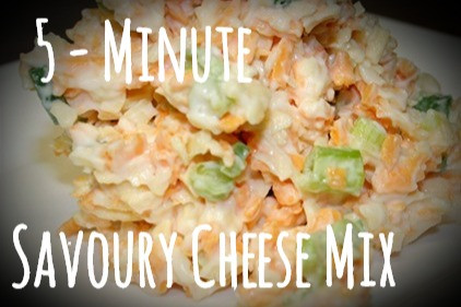 5 Minute Savoury Cheese Mix