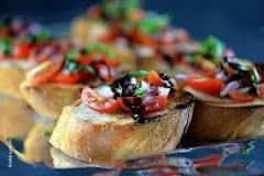 Bruschetta & Thai Basil Tofu Recipe