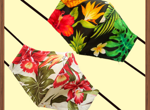 What's your next choice? Check out our Hawaiian pattern masks!