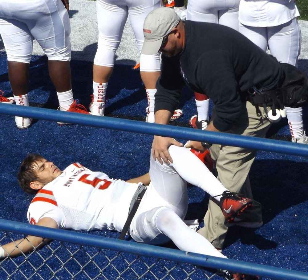 Kyle Huff (Athletic Trainer) At Work