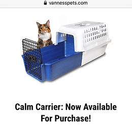 Fear Free: Sliding Base Cat Carrier