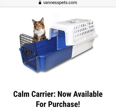 Fear Free: Sliding Base Cat Carrier