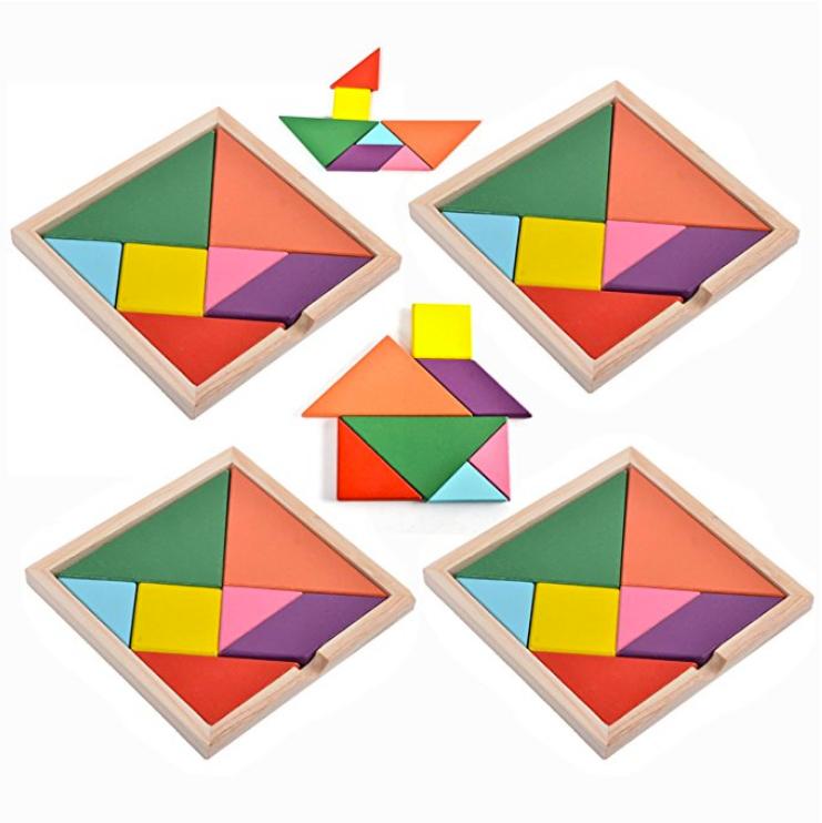 Magnetic Tangrams | Austin Babysitting