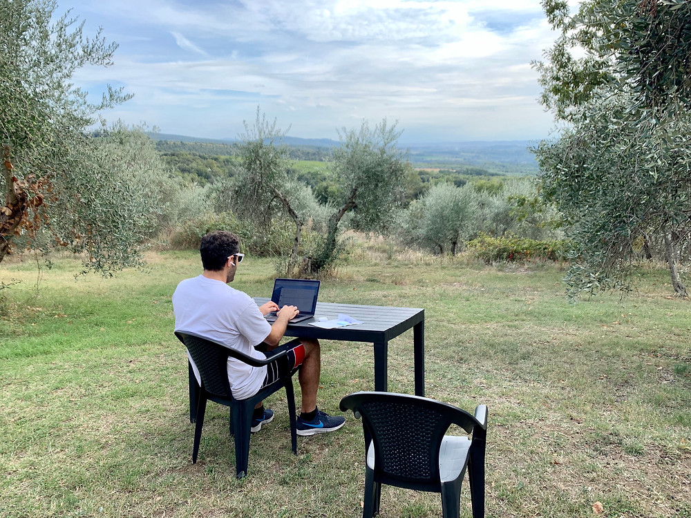 There I go again, constantly building Yay Math's library of free Google quizzes. Doesn't hurt to be in the plains of Tuscany, Italy while working.