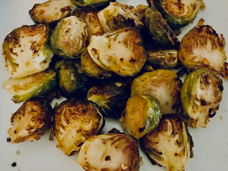 Garlic Roasted Brussels Sprout
