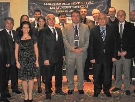 Turkish Paint Cluster İlk Sektörel Ticaret Heyeti Programını Fas ve Cezayir'e Gerçekleştirdi.