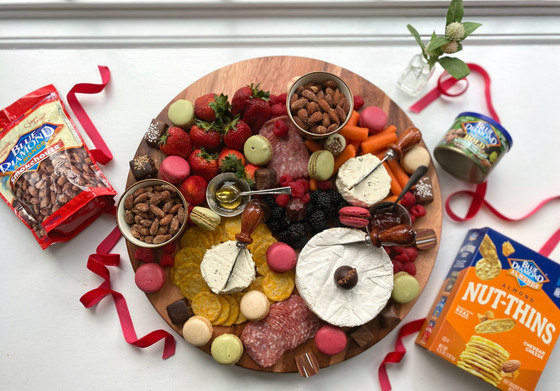 Holiday Charcuterie with Blue Diamond