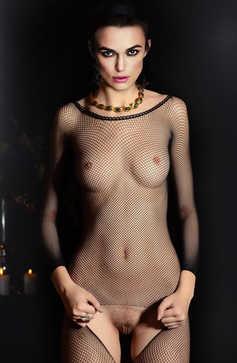 Keira Knightley Undressed
