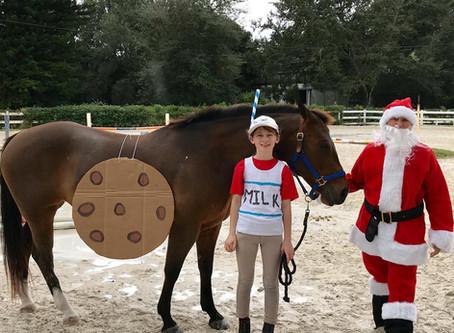 Christmas Horseshow fun!