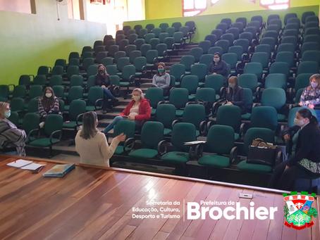 REUNIÃO DA SMECDT BROCHIER