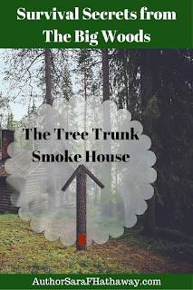 Survival Secrets from The Big Woods: Tree Trunk Smokehouse