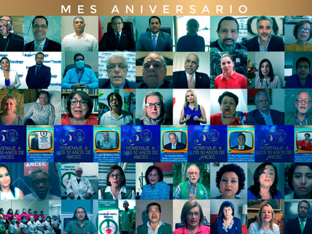 Momentos gratos en el Homenaje a los 50 años de la ANCEC