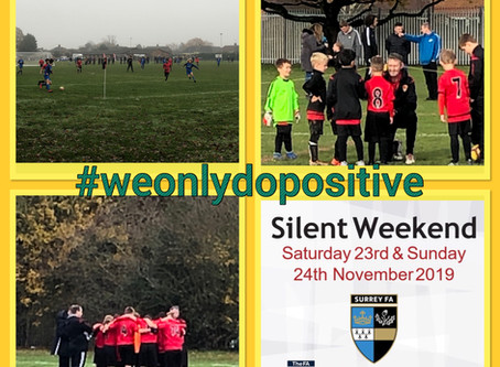 Round up 24th November - Silent Weekend