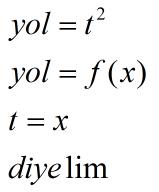 Türevin Matematiksel Kanıtı!Türevi Anla