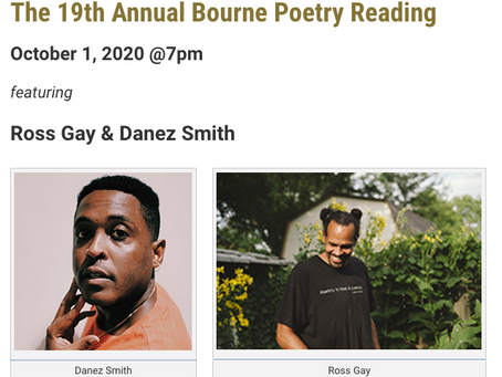 LMC's Poetry@Tech Fall Reading, with Ross Gay and Danez Smith