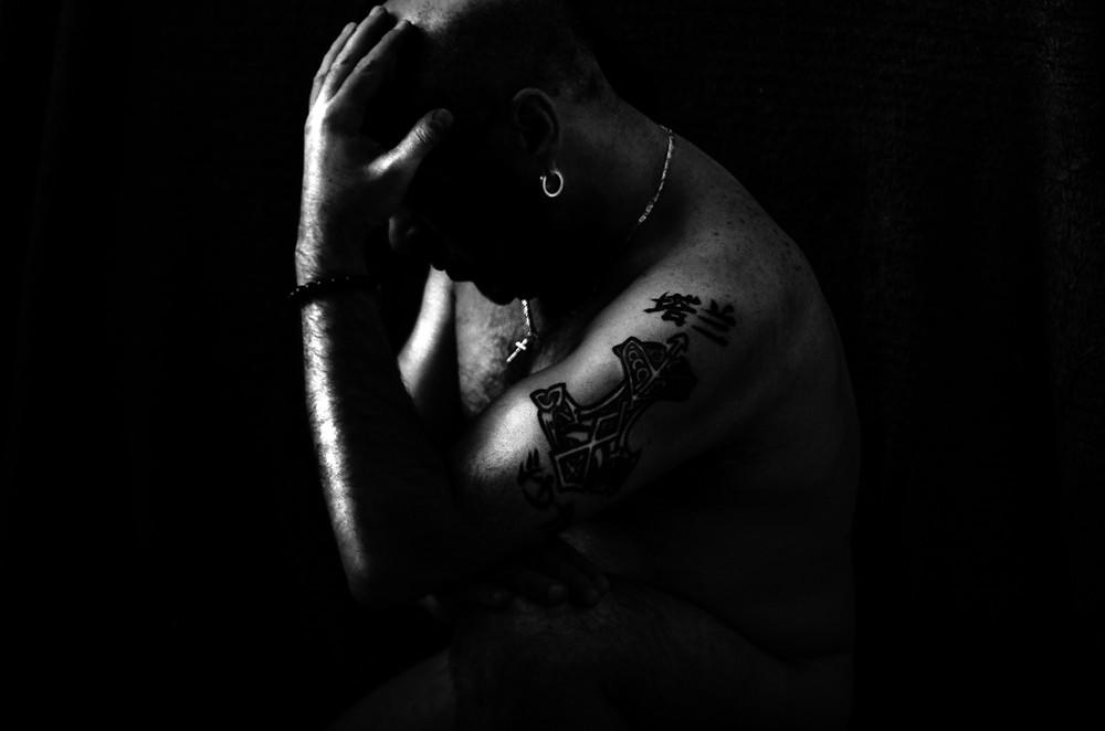 Self portrait taken by award winning photographer Frank Perez