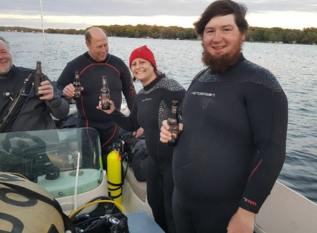 Pewaukee Lake Dive to test the waters