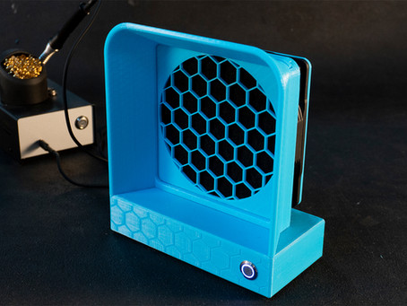 Battery-Powered Solder Fume Extractor