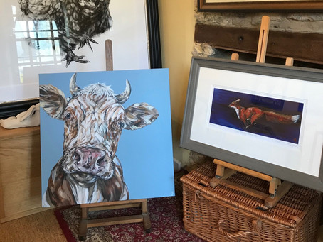 Blog: Sam's work now showing in Artysan, a beautiful gallery in the heart of the Cotswolds