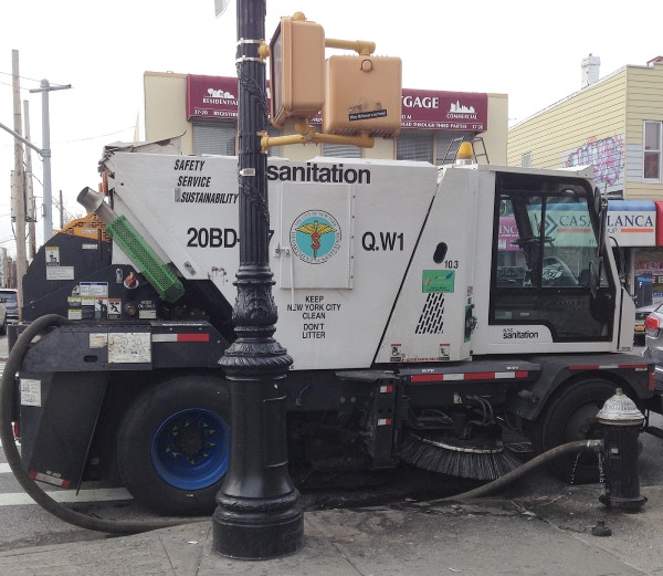 Street Sweeper in New York City