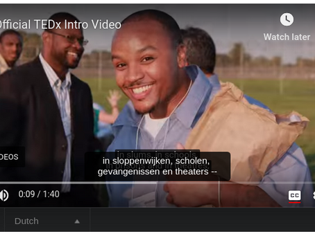 Mobile app idea #69: YouTube Video Re-caption