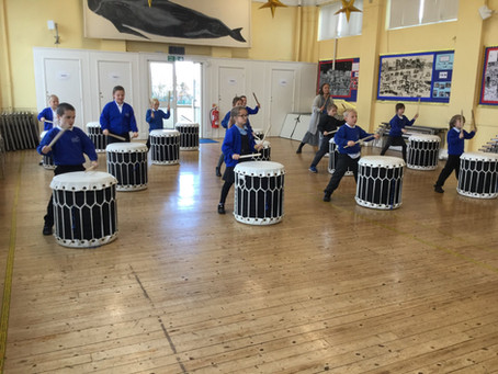 Taiko Drumming for 3CO
