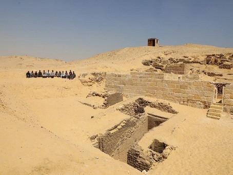 Новые гробницы в Гизе