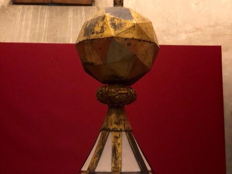 Il coronamento della cappella di Michelangelo.