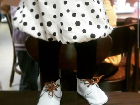 Zapatos para bebés que están gateando