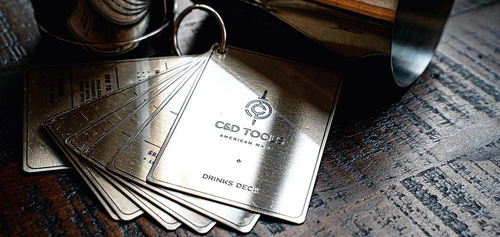 C&D Tools Drinks Deck   $55