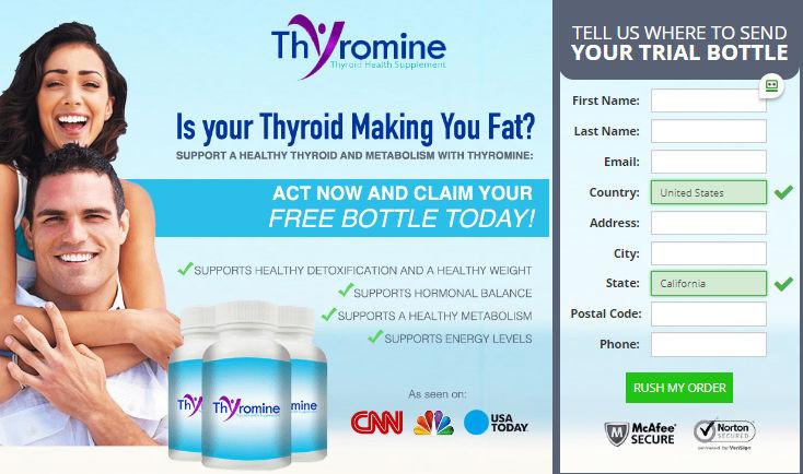 Thyromine Pills Price Benefits Ingredients Side Effects