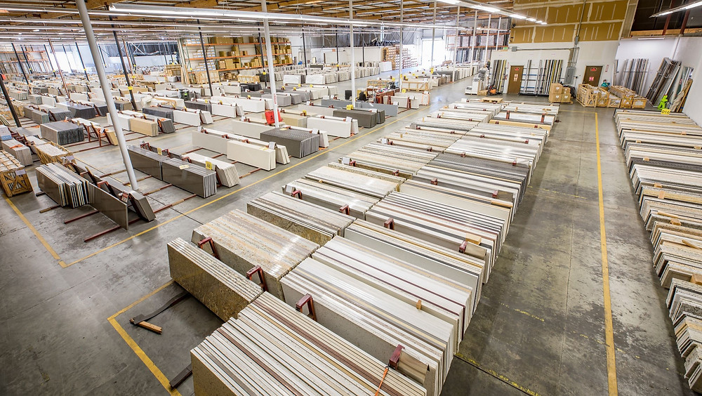 KZ has a broad selection of prefab countertops and large inventory.