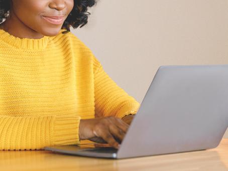 Agora você pode escrever no blog onde estiver!