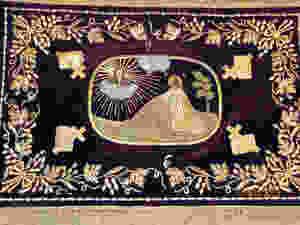 Церковная швейная мастерская Евфимия пошив на заказ вышитое облачения для схимника.