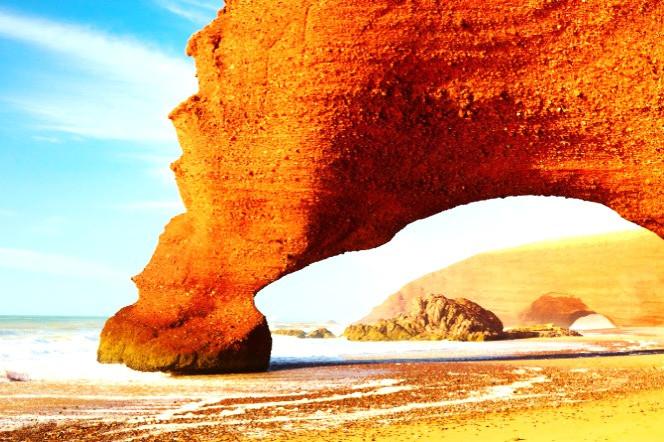 Morocco Agadir Legzira beach