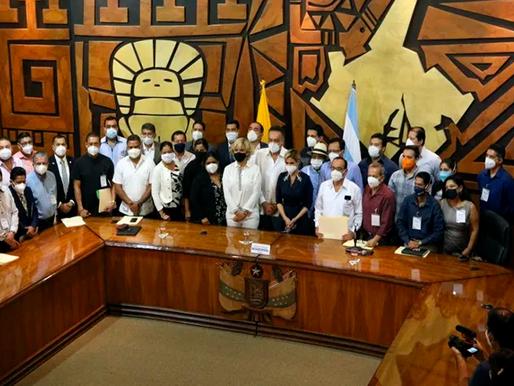 Alcaldes del país anuncia movilización en rechazo a la reducción del presupuesto a los GAD´s