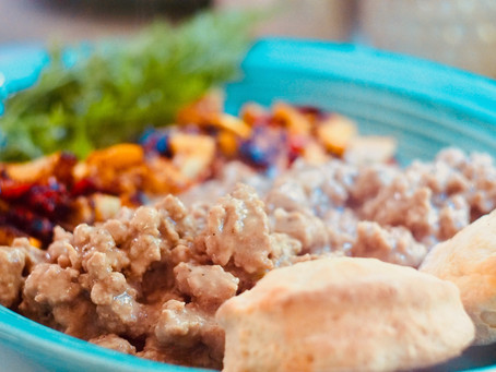 Heart Healthy Biscuits and Gravy