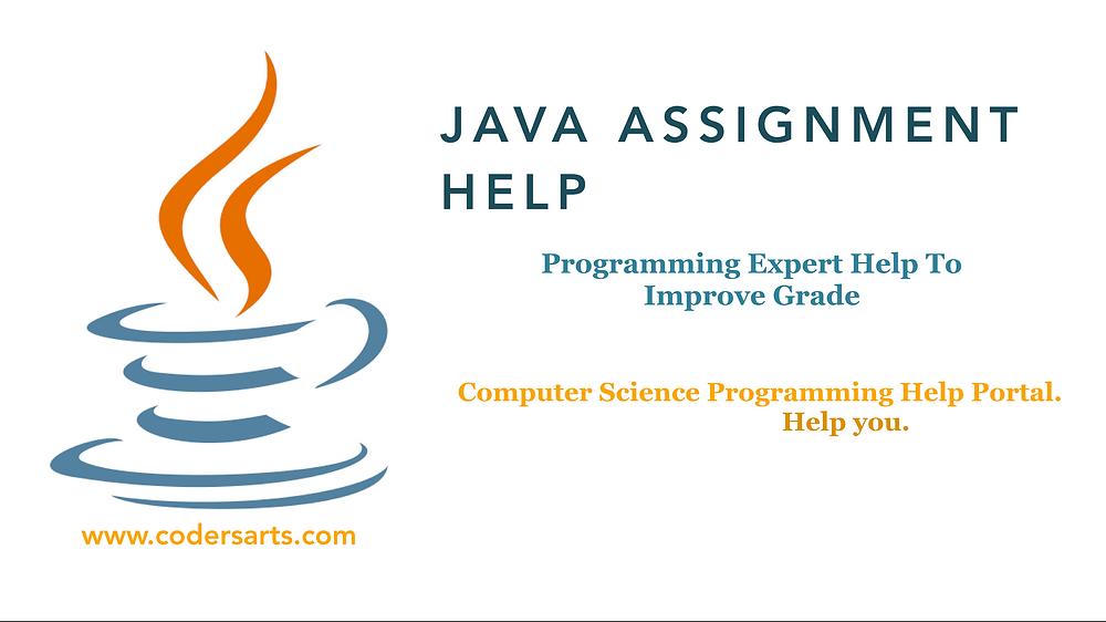 Do my Java Homework | Help me in my Java Assignment
