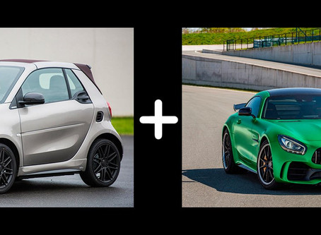 Smart ForTwo Gets AMG Treatment
