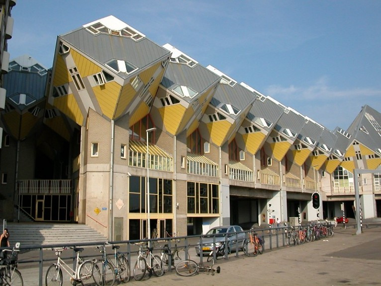 Piet Blom - mimarlık akademisi
