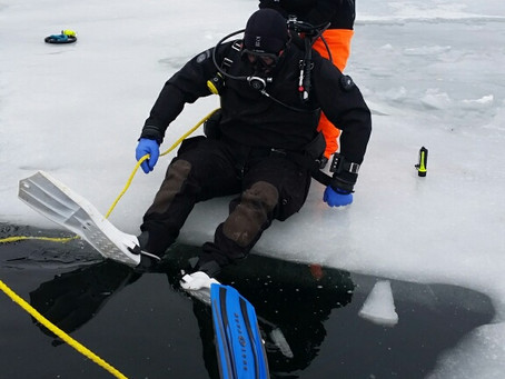 February 3&4 2019 Ice Dive on Golden Lake with Stillwater Scuba of Delafield