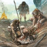 crémation préhistoire médecine ancienne bonheur évolution trascendence