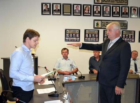 Inácio Herrmann é o novo prefeito do município