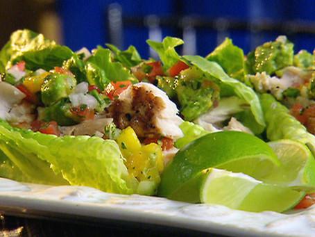 Mahi-Mahi Lettuce Wraps