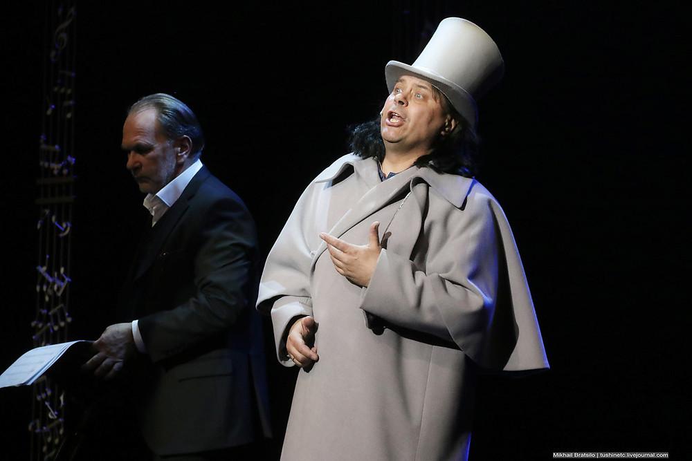 Алексей Гуськов и Николай Дорожкин в спектакле «Онегин-блюз»