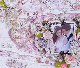 Love: Mixed Media Layout