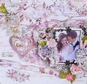Love: Mixed Media Layout