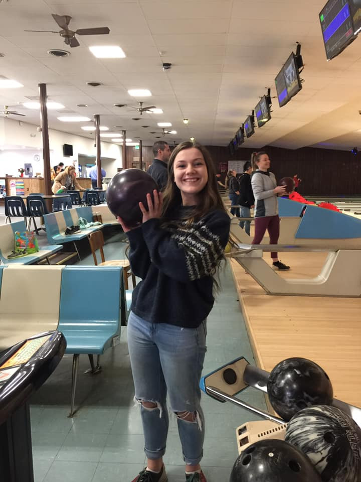 bowling is a cheap way to cure cabin fever